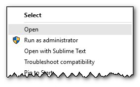 Select Troubleshoot compatibility